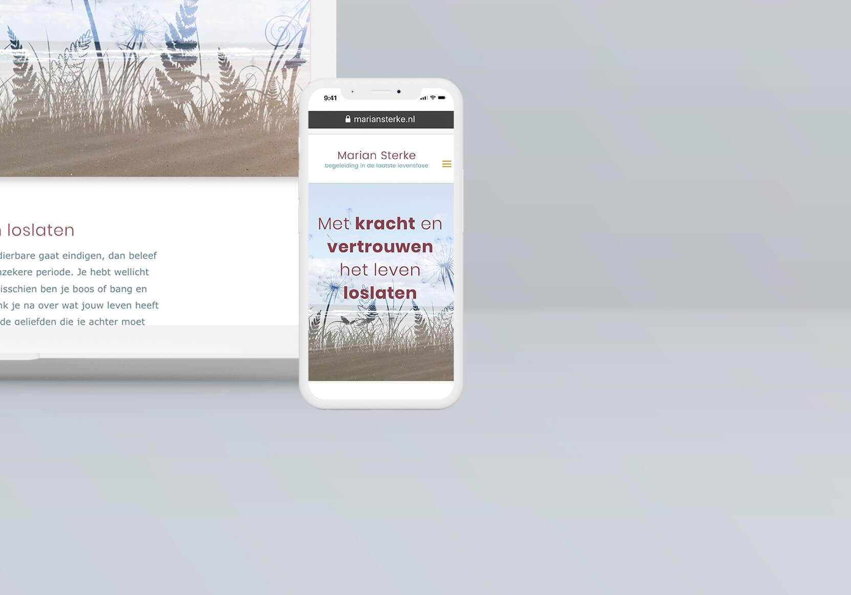 Marian Sterke-website