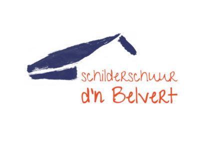 Schilderschuur d'n Belvert logo