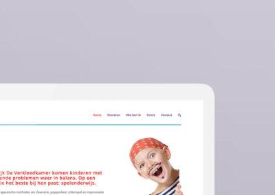 De verkleedkamer website